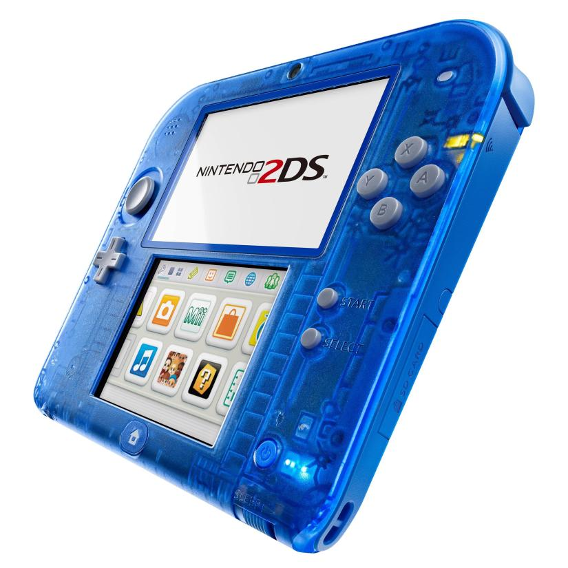 Crystal Red & Blue 2DS Models Will Launch November 21 In North America