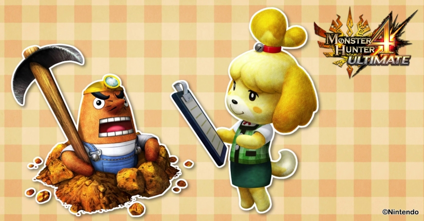 Animal Crossing Content Coming To Monster Hunter 4 Ultimate