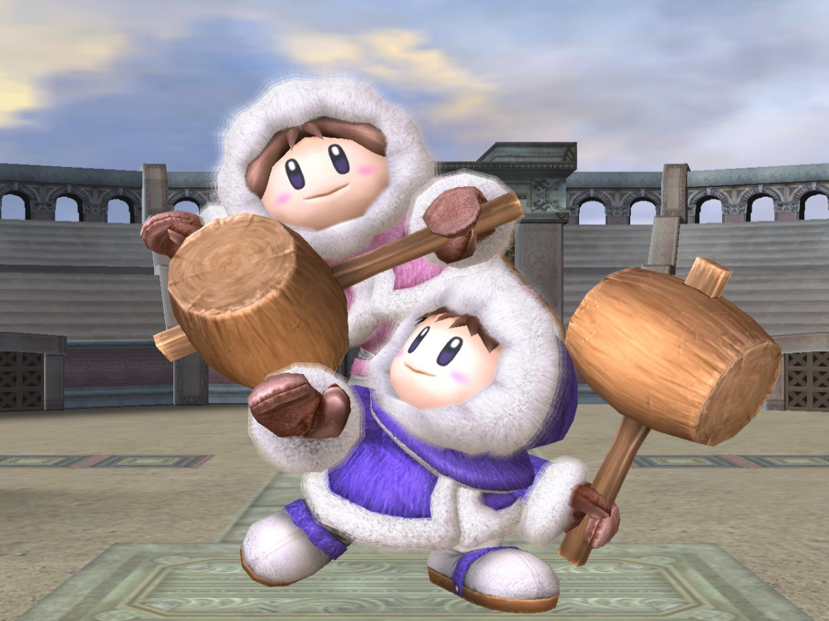 Image result for ice climbers smash bros screenshot