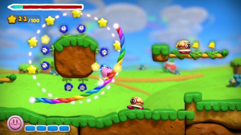 Kirby And The Rainbow Curse Gameplay Demo From IGN