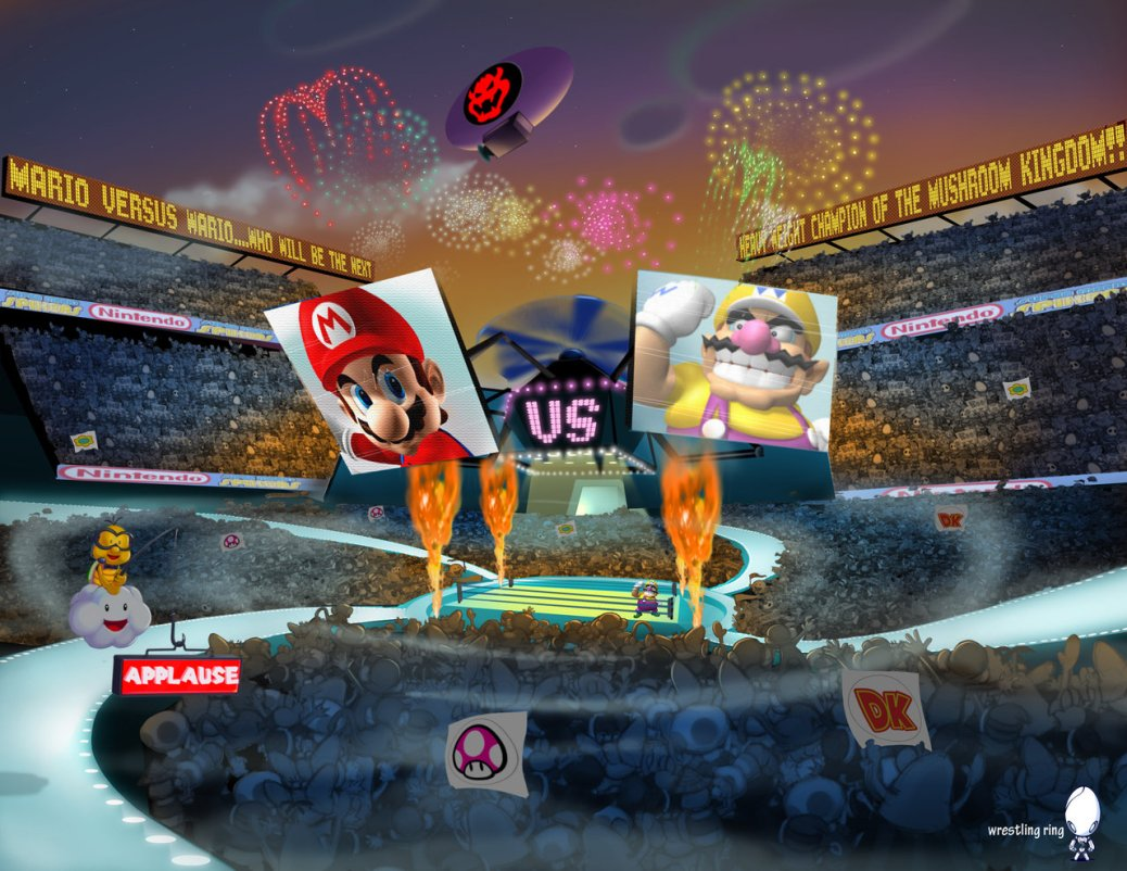 Mario-vs-Wario-Spikers-arena