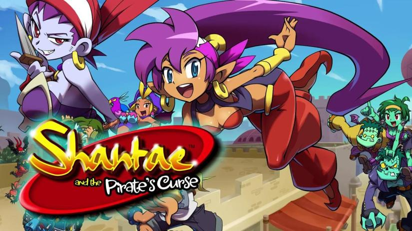 Here's The Shantae And The Pirate's Curse Official LaunchTrailer