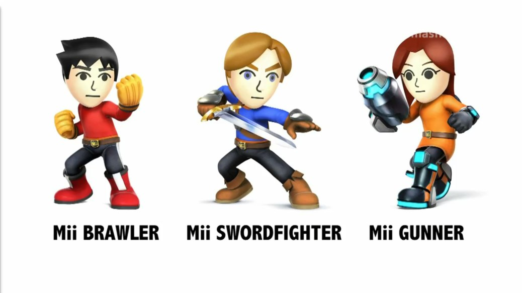 Super-Smash-Brothers-Mii-Classes