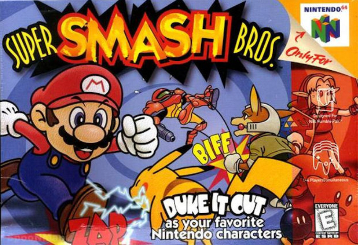 Nintendo Minute Plays The Original Super Smash Bros For N64 In Smash Tember My Nintendo News
