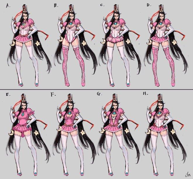 bayonetta_peach_design
