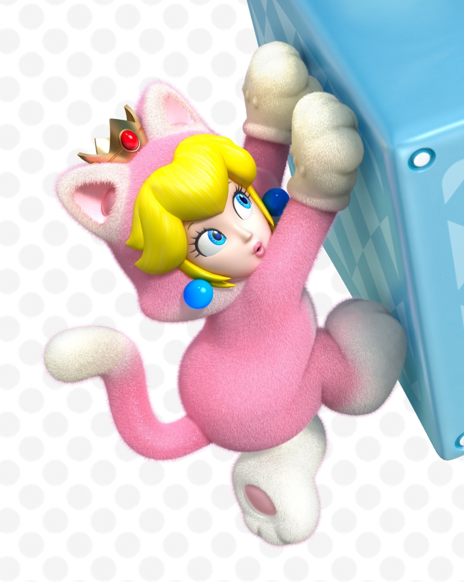 Princess Peach Super Mario 3d World ...