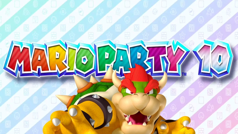Here's The Small Mario Party 10 Wii U Box-Art