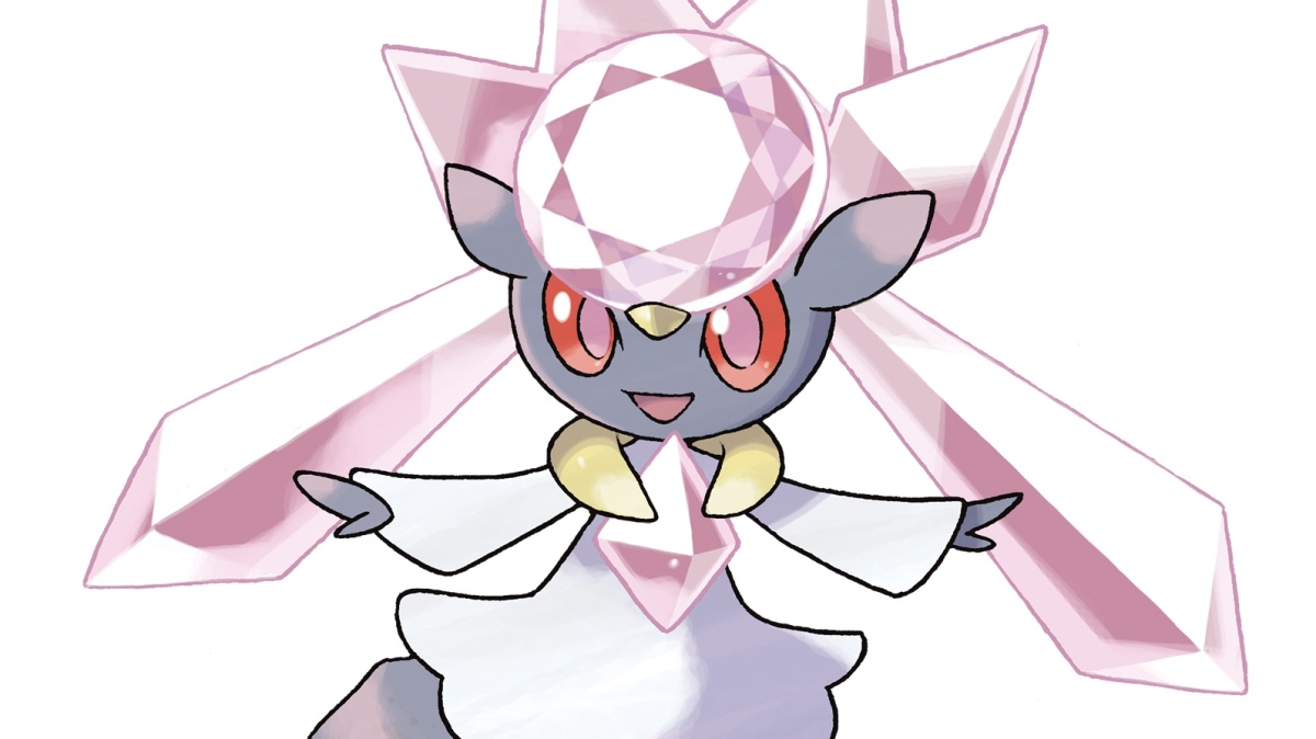 Don't Forget To Get Mythical Pokemon Diancie