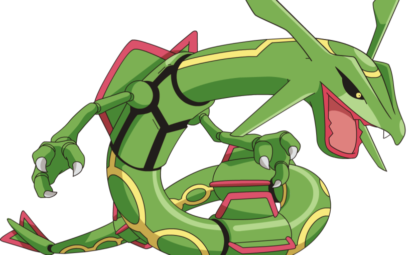 Legendary pokemon rayquaza can mega evolve in pokemon omega ruby and sapphire my nintendo news - Pokemon rayquaza mega evolution ...