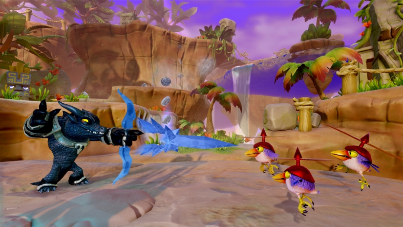 Nintendo Minute Plays Skylanders Trap Team With The Game's ExecutiveProducer