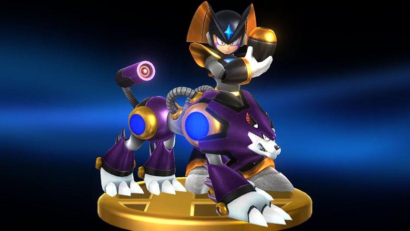 Sakurai Showcases Two Mega Man Trophies In New Smash Bros Wii UScreenshots