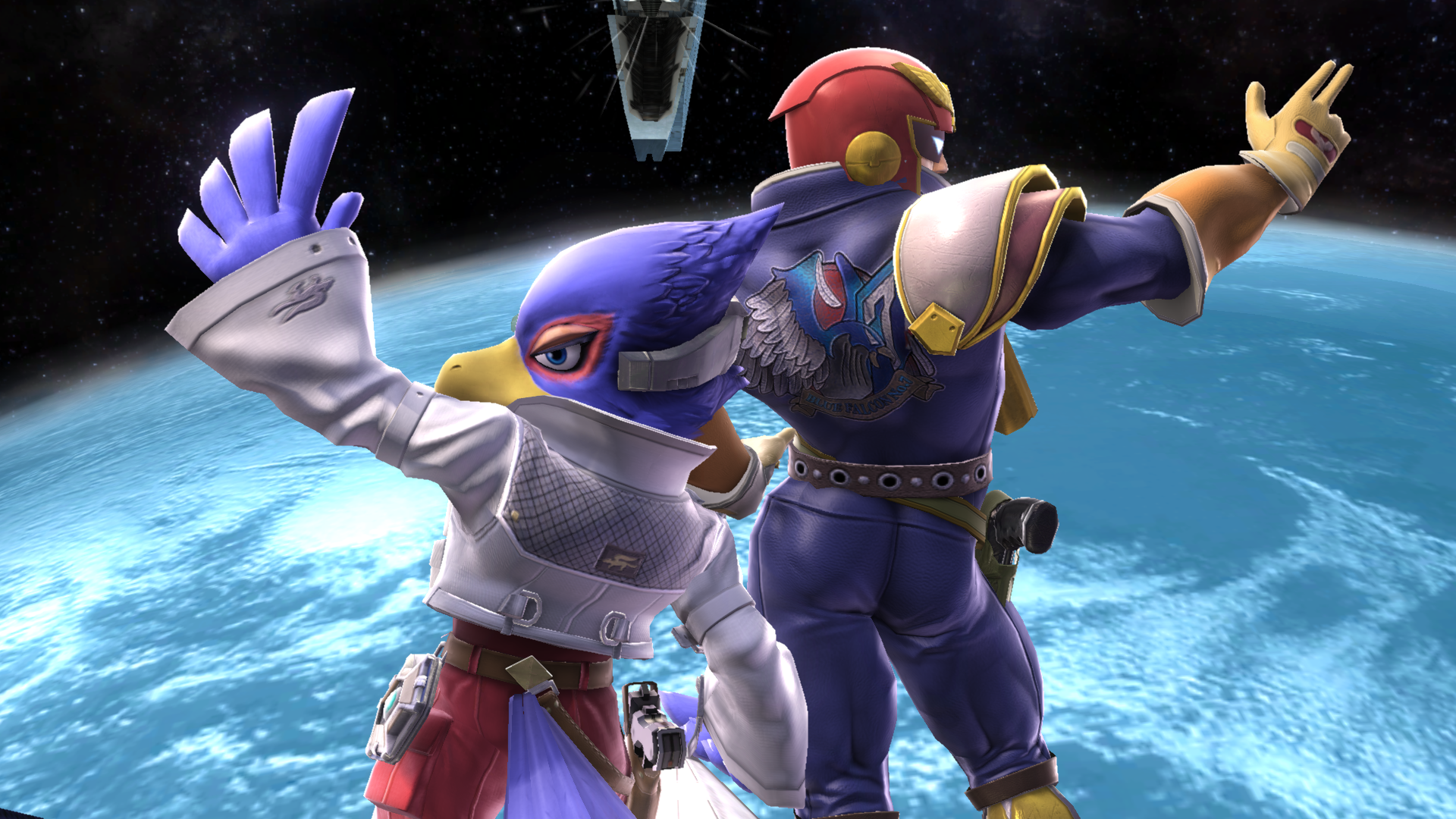 New captain falcon got so much cake doe