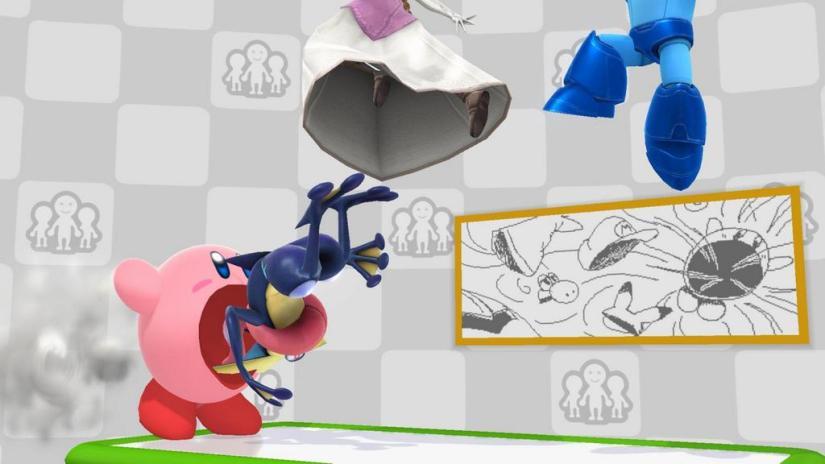 New Miiverse Stage In Super Smash Bros Wii U Displays RealMessages