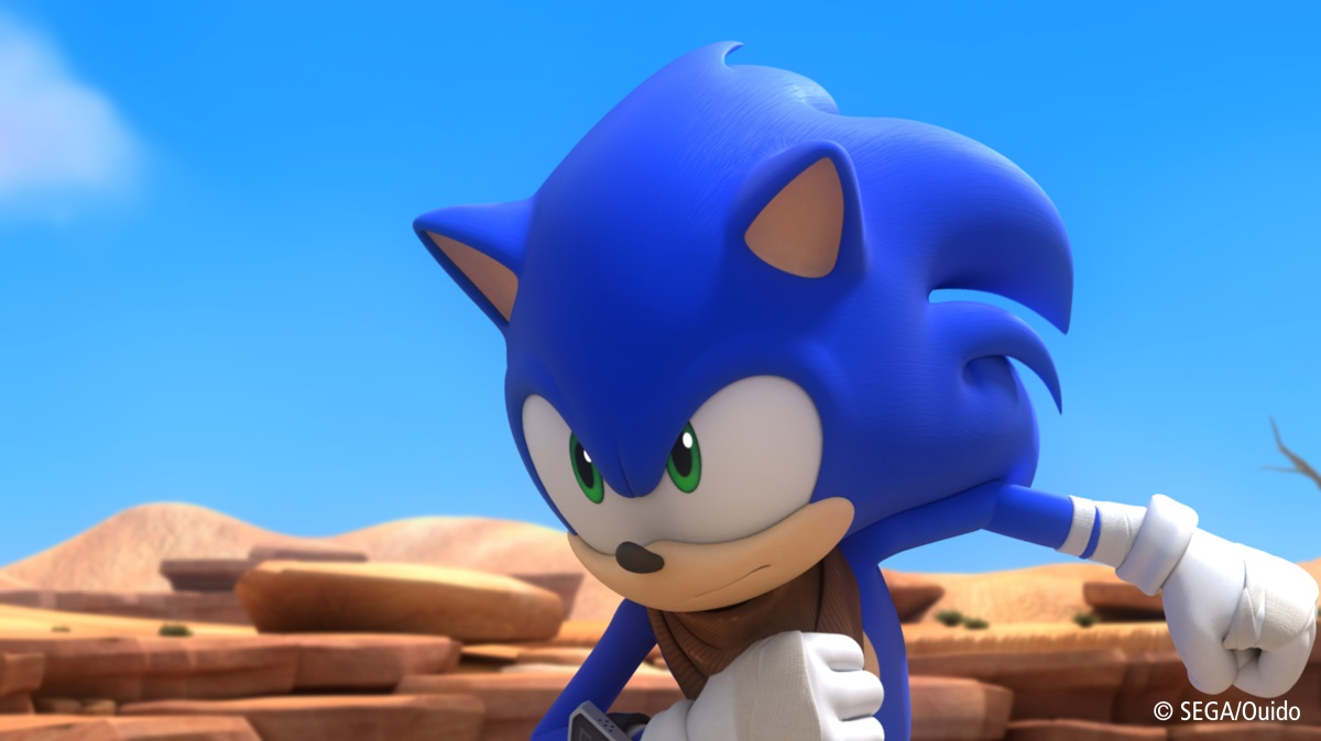 Here's The Official Sonic Boom TV Series Commercial