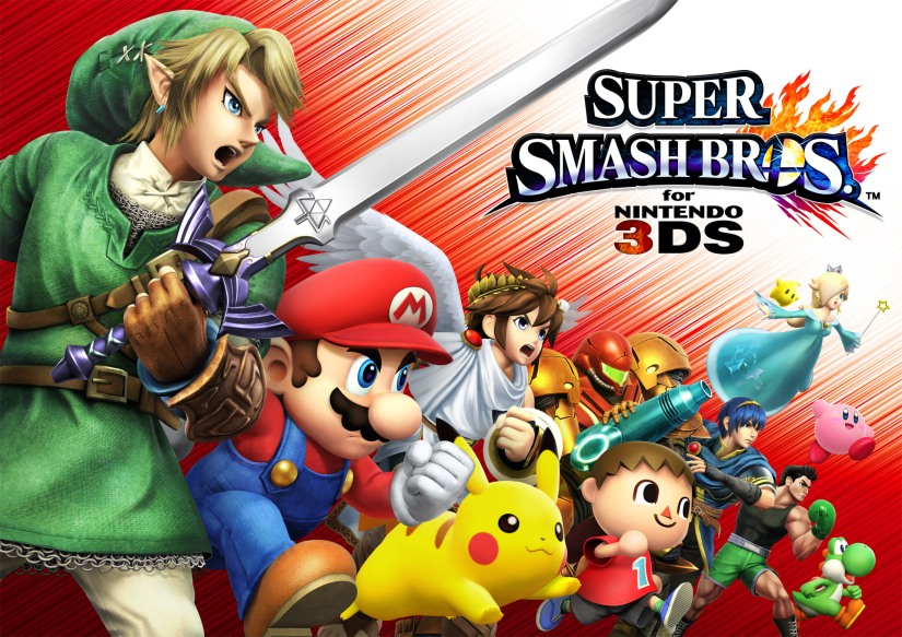 EDGE Gives Super Smash Bros On Nintendo 3DS 8/10