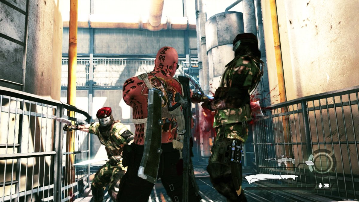 Itagaki: No Cross-play Between PC And Wii U Versions Of Devil's Third Online