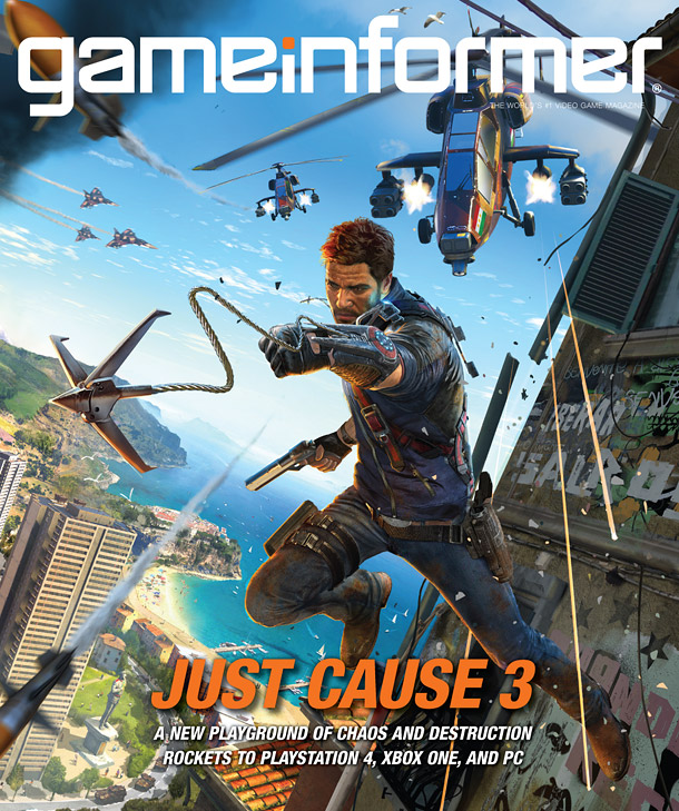 The Game Informer Cover Reveal Was For Just Cause 3, But It's Not For Wii U