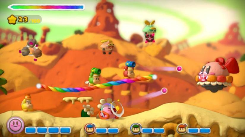 Kirby And The Rainbow Curse For Wii U Launches In February 2015