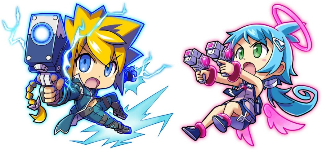 mighty_gunvolt_characters