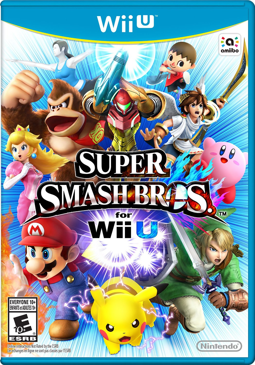 Nintendo Updates Super Smash Bros For Wii U Box Art With