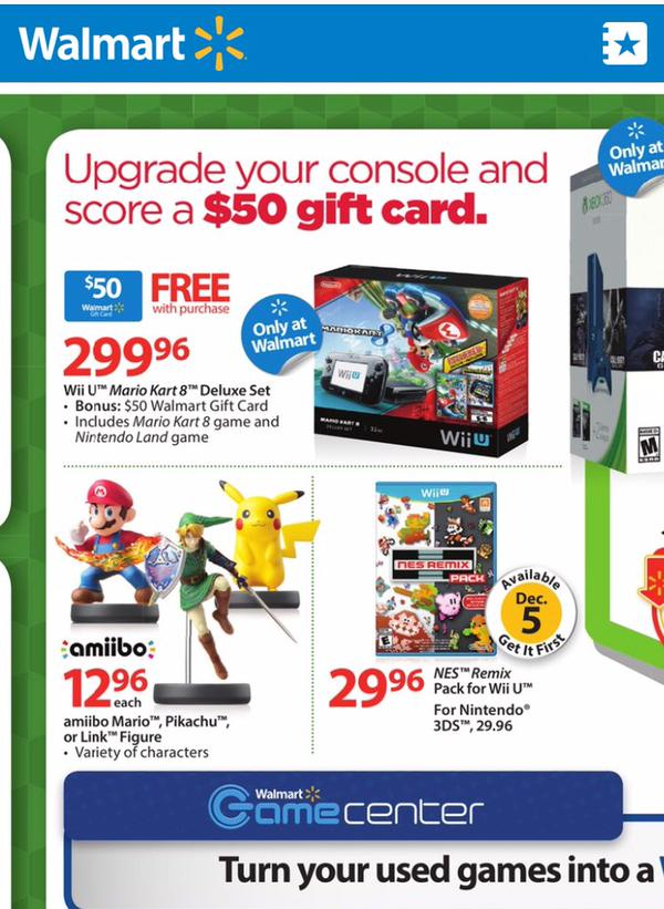 Walmart Wii U Games : Walmart my nintendo news page