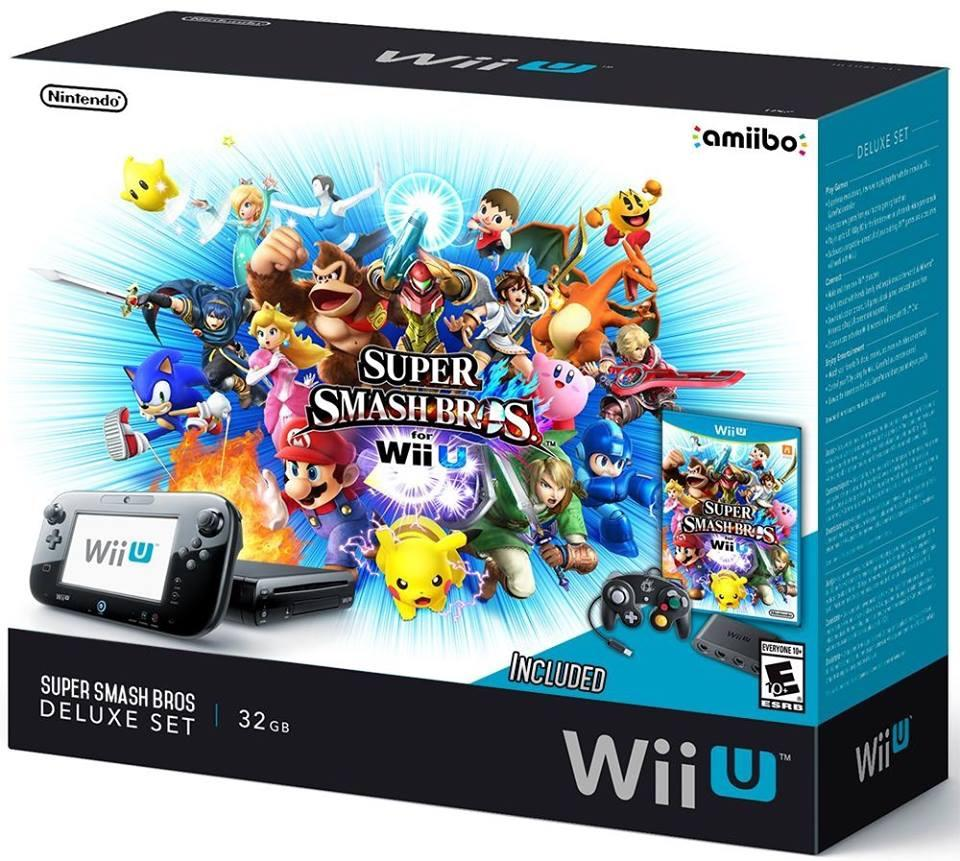 Nintendo planning to release super smash bros wii u console bundle my nintendo news - Console wii u super smash bros ...