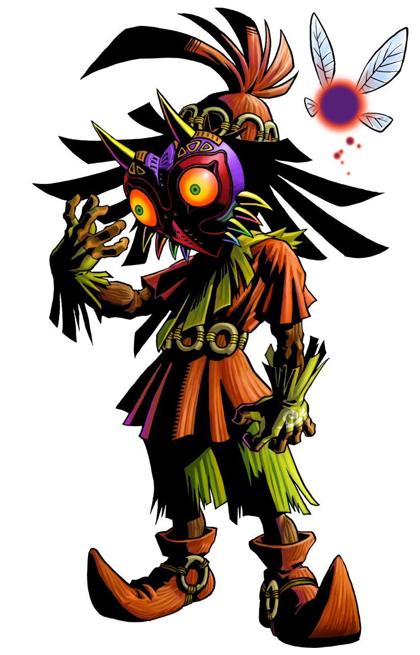 Nintendo Provides Some Interesting Titbits About Zelda: Majora's Mask