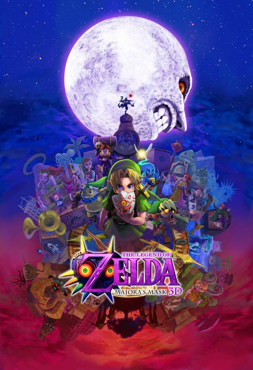 The Legend of Zelda: Majora's Mask 3D Is Now Available For Nintendo 3DS