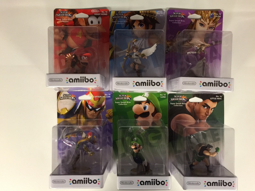 GAME Is Now Stocking Wave 2 Amiibo Figures