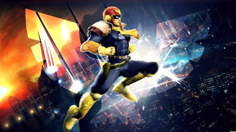 Captain Falcon Amiibo Available At Toys RUs