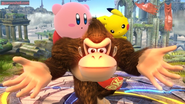 donkey_kong_kirby_pikachu_super_smash_bros_wii_u_screenshot