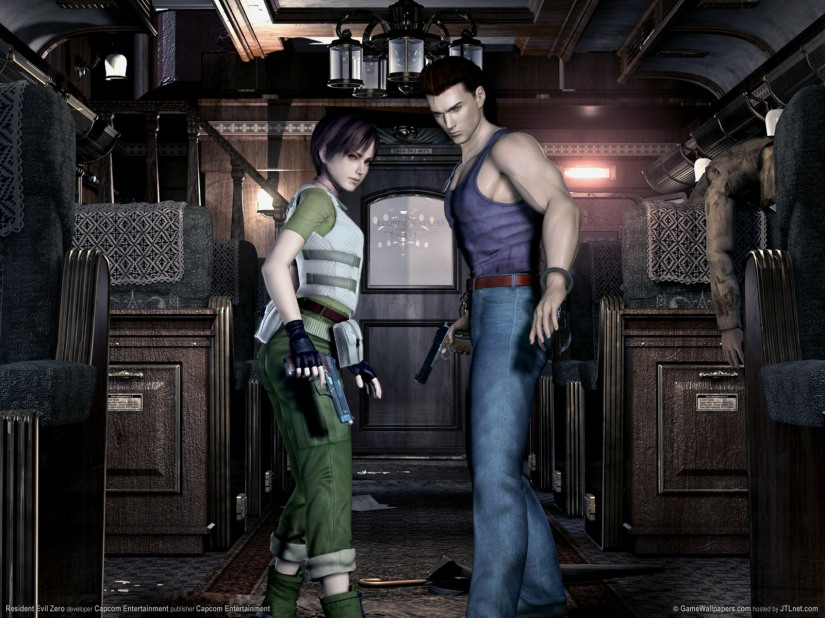 Looks Like Resident Evil Zero For The GameCube Is Getting A HD Remake