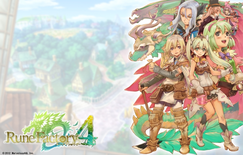 Rune Factory 4 Listing Spotted On European 3DS eShop, Coming December 11