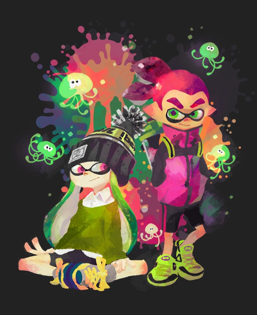 Splatoon Has Miiverse Art On In-Game Billboards