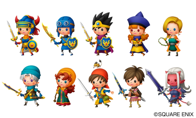 Here's The First Batch Of Theatrhythm Dragon Quest Screenshots And Trailer