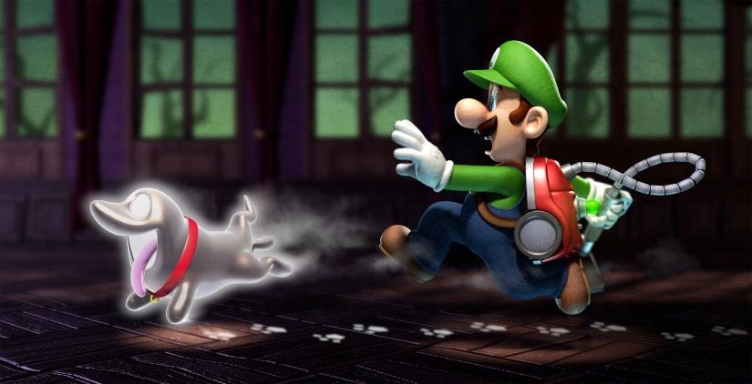 Here's A Look At Some Screenshots From Luigi's Mansion Arcade