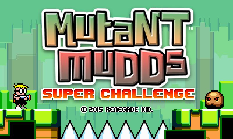 Mutant Mudds Super Challenge Announced For 3DS And Wii U