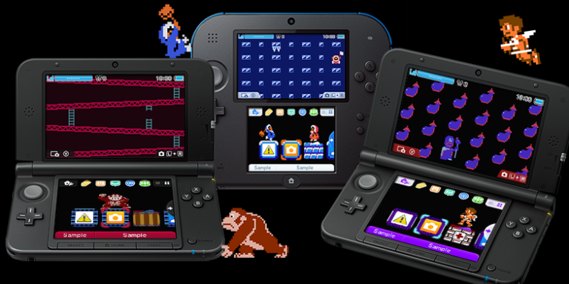 Euro eShop: Three New NES 3DS Home Menu Themes Available From Friday