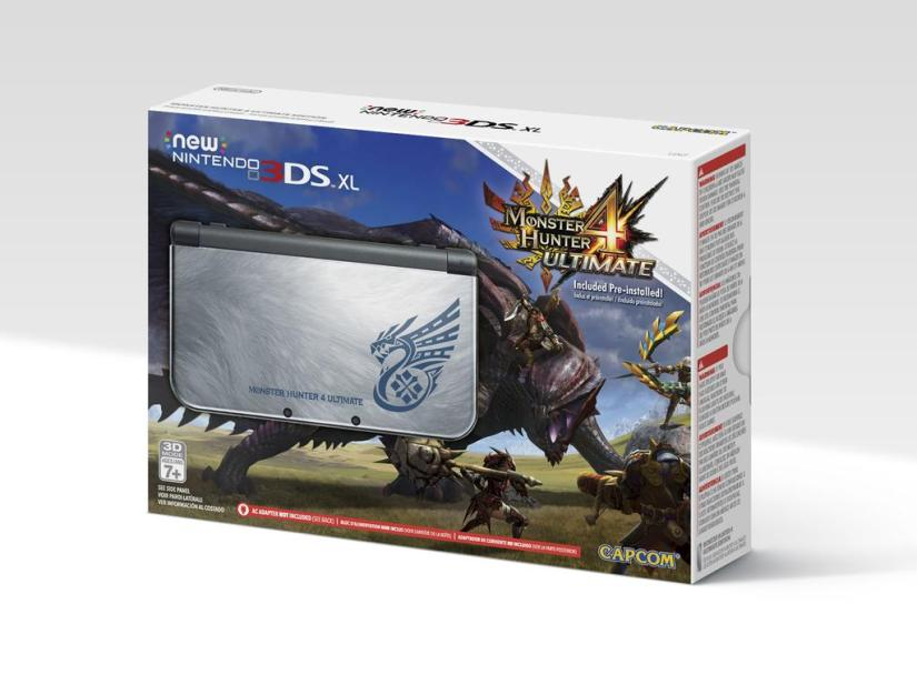 Monster Hunter New Nintendo 3DS Back In Stock At GameStop