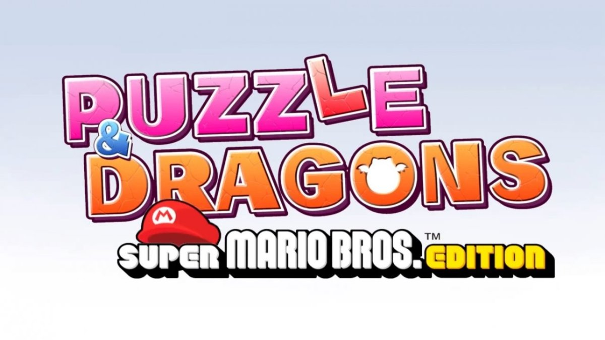 Preorder Puzzle & Dragons For Nintendo 3DS At Nintendo UK Store And Get Mario SoftToy