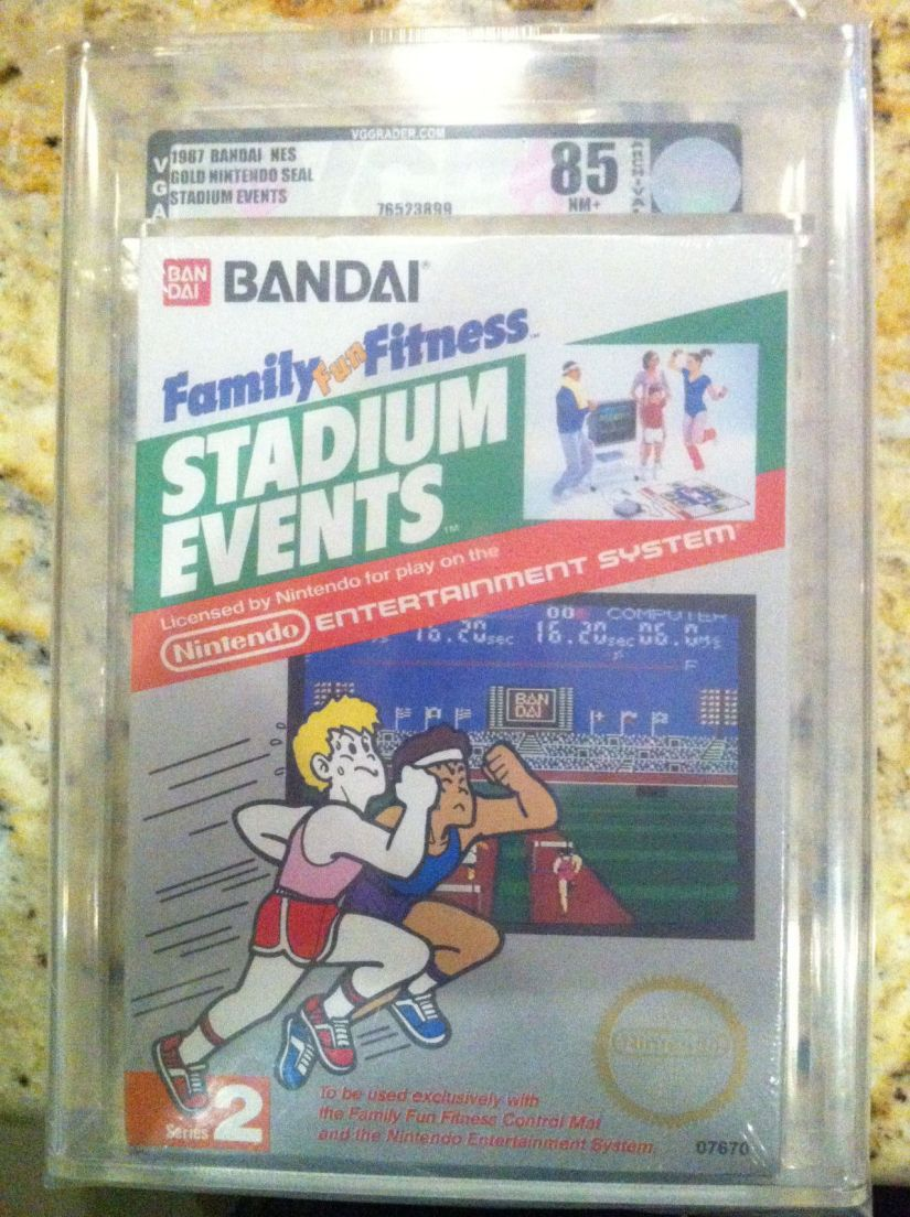 Factory Sealed NES Title Stadium Events Reaching Bids Up To $100,000 On eBay