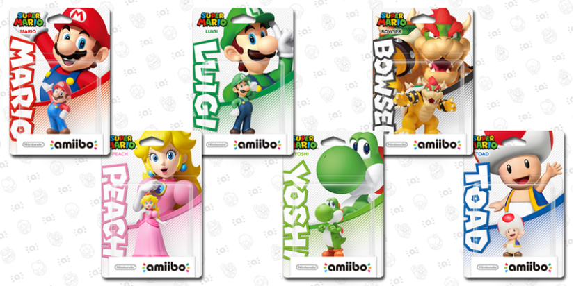 Here's An Unboxing Video Of The Super Mario Collection Amiibo Figures