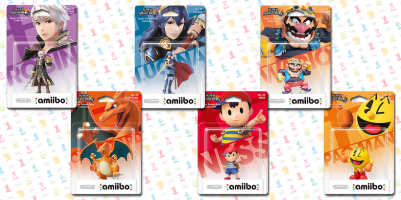 Six Smash Bros Amiibo Coming April And Six Super Mario Collection Amiibo Due March