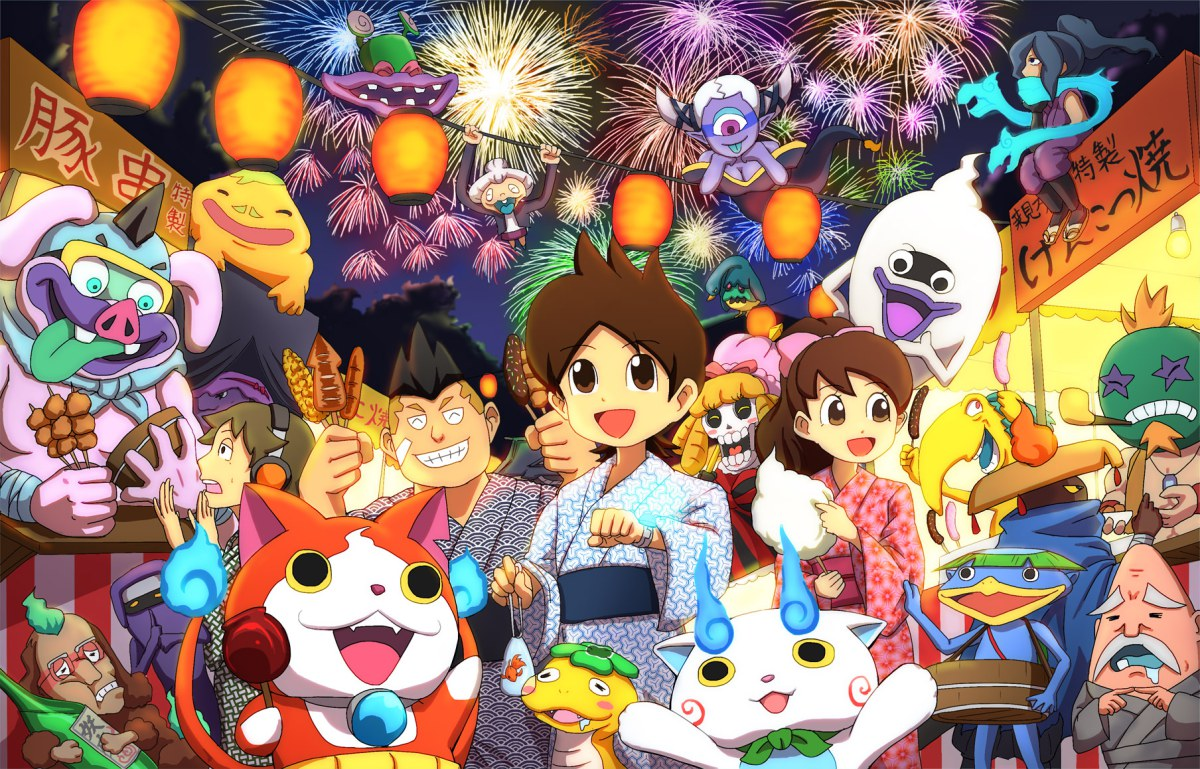 There\'s A New Yokai Watch Just Dance Game Coming To Wii U | My ...