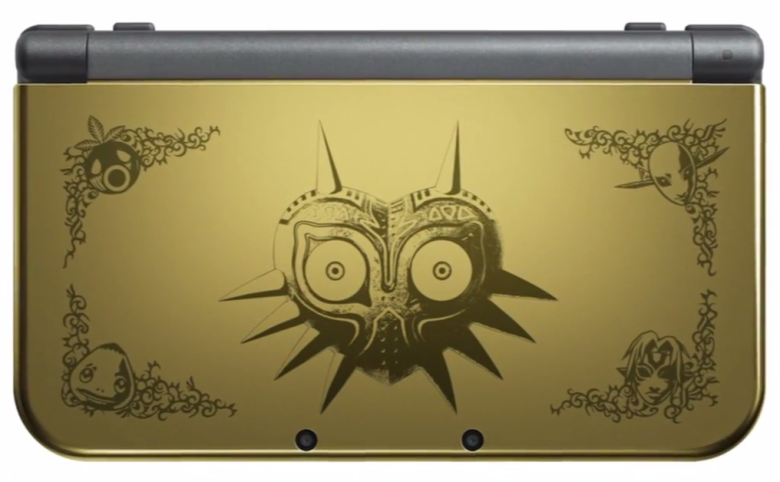 GameStop: New Nintendo 3DS XL – Majora's Mask Edition Gaming Bundle Available