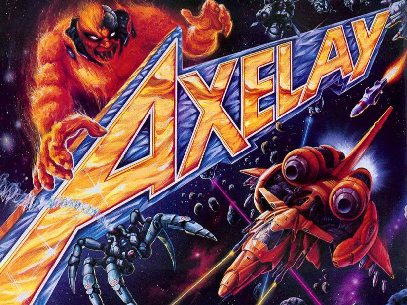 Super Nintendo Hit Axelay Coming This Week To US Wii U VirtualConsole