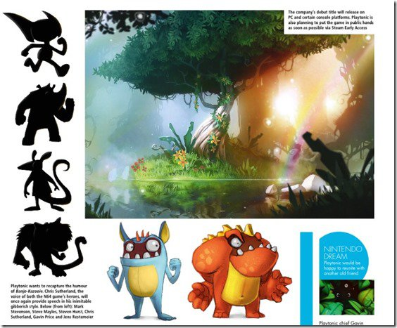 Here's The First Concept Art Of The Banjo Kazooie Spiritual Successor From PlayTonic Games