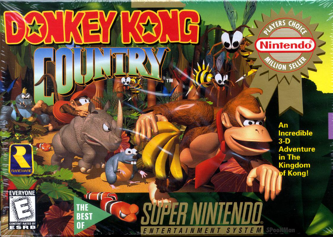 free donkey kong country