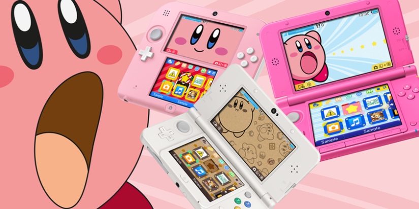 Three New Kirby Home Menu Themes Roll On To European 3DS eShop This Friday