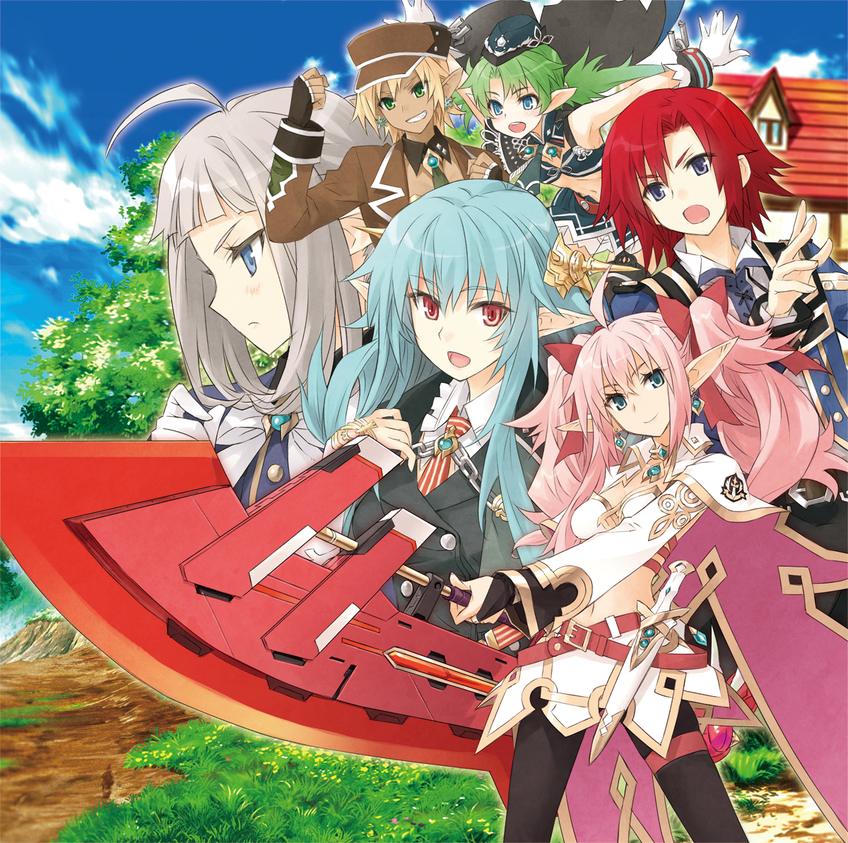 Lord of Magna: Maiden Heaven For Nintendo 3DS Coming To North America ThisSpring